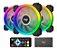 COOLER RGB AIGO PARA GABINETE (3 FANS AND IR REMOTE) DR12-PRO - Imagem 1
