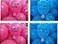 50 balões em cores primárias a escolher e personalizados com 9 polegadas. - Imagem 9