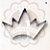 Cortador Metal Coroa 3 JJ - Imagem 1
