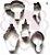 Cortador Metal Kit Beleza JJ - Imagem 1