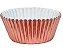 Forminha Cupcake Metalizada Rose Nº0 c/ 50 unid. - Imagem 1