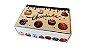 Caixa para Chocolate Decorada Decora c/5 unid  - Imagem 1