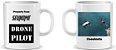 Caneca Personalizada em Porcelana mod.01 - Imagem 1