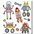 Nós, robôs! Combo para crianças de 3-8 anos - Imagem 5