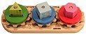 Engrena Roda - Brinquedo Educativo de Madeira - Imagem 1