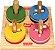Passa Circulos - Brinquedo Educativo de Madeira - Imagem 1