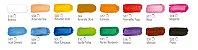 Têmpera Guache 12 cores - 15ml cada - Imagem 3
