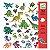 160 Adesivos - Dinossauros - Imagem 1