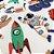 30 Adesivos Infantis em Relevo- Retrô - Imagem 3
