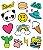 Tatuagem temporária - Pop Panda - Imagem 1