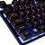KIT Teclado + Mouse USB Gamer LED Rainbow BK-G550 Exbom - Imagem 5