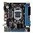 Placa Mãe LGA 1155 BMBH61-T DDR3 10/100 HDMI/VGA BLUECASE 2° e 3º geração - Imagem 1