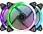 Cooler Ring Gabinete Bluecase BFR-72B RGB 120x120mm - Imagem 1