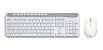 KIT Teclado + Mouse Sem Fio Branco USB CS500 HP - Imagem 1