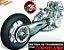 Kit Relação correia Honda CBR 600 F1 F2 F3 1987 a 1996 - Imagem 1