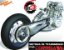 Polia (Coroa) Tras. Honda CBX250 Twister (Modelo antigo) - Imagem 2