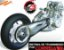 Correia Gates Polychain Carbon USA - F800GS / Vstrom 1000/1000 ABS/Buell 135T - Imagem 3