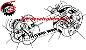 KIT Relação Correia Dentada - Honda XRE 190 - Imagem 1