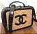 Bolsa Chanel Nº 2 Caramelo e Preto - Imagem 1
