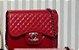 Bolsa Chanel N° 7 Vermelha - Imagem 1