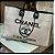 Bolsa Chanel N° 9 Cinza Claro - Imagem 1