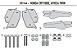Rack Suporte/Ferragem para base de baú GIVI - para Honda Africa Twin até 2018 - Imagem 3
