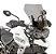 Bolha Alta - Pára-Brisa GIVI para Tiger 800 de 2018 a 2020 - Fumê - Imagem 1