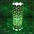 Luminária de mesa decorativa - Geométrica Cubos - Verde - Imagem 2