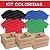 Kit Camisetas Coloridas (100& Algodão) - Imagem 1