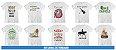 Kit Camisetas Linhas de Trabalho (20 Peças) - Imagem 3