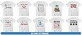 Kit Camisetas Linhas de Trabalho (20 Peças) - Imagem 2