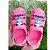 Sandália babuch luluca shine Infantil confortável rosa - Imagem 2