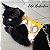 Peitoral Cat.Walker Bigodiva tamanho P Jeans com Verde Claro - Imagem 7
