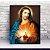 Quadro 50x40cm PVC - Sagrado Coração de Jesus - Imagem 1