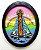 Padroeira 02 - Imã  - Sta Arco Íris Oval - Imagem 1