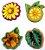 Aplique em MDF #36 - Plantas - Imagem 1
