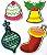 Aplique em MDF #44 - Natal - Imagem 1