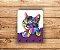 Porta Chaves | Gato | Roxo - Imagem 2