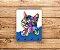 Porta Chaves   Gato   Azul - Imagem 2