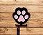 Porta coleira patinhas | Relevo 3D | Rosa - Imagem 2