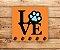 Porta Chaves | LOVE | Laranja - Imagem 2