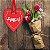 Placa Grande TAG MDF Decorativa | Formato de Coração | Amor - Imagem 2