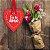 Placa Grande TAG MDF Decorativa | Formato de Coração | Eu te amo - Imagem 2
