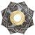 PRATO AEGIS PRATA/DOURADO- GODS OF HOOKAH - Imagem 1