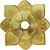 PRATO MINI IMPERIAL DOURADO - HOOKAH KING - Imagem 1