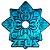 PRATO GRANDE ZEUS ELEMENTAL AZUL - HOOKAH ZEUS - Imagem 1