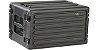 Rack Case SKB 6U com trilhos de aço - Imagem 1