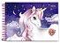 Caderno de Cartografia e Desenho Unicorn, I Believe! 80 fls Cadersil - Imagem 2