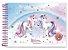 Caderno de Cartografia e Desenho Unicorn, I Believe! 80 fls Cadersil - Imagem 1