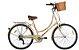 Bicicleta Mobele Imperial Retrô, 7 Marchas- Bege - Imagem 1